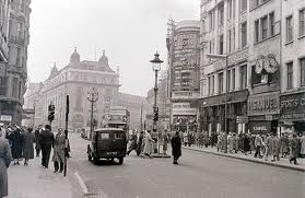 1956 London - Piccadilly Circus and Coventry Street